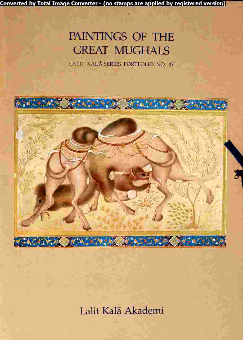 Portfolio Painting of the Great Mughals