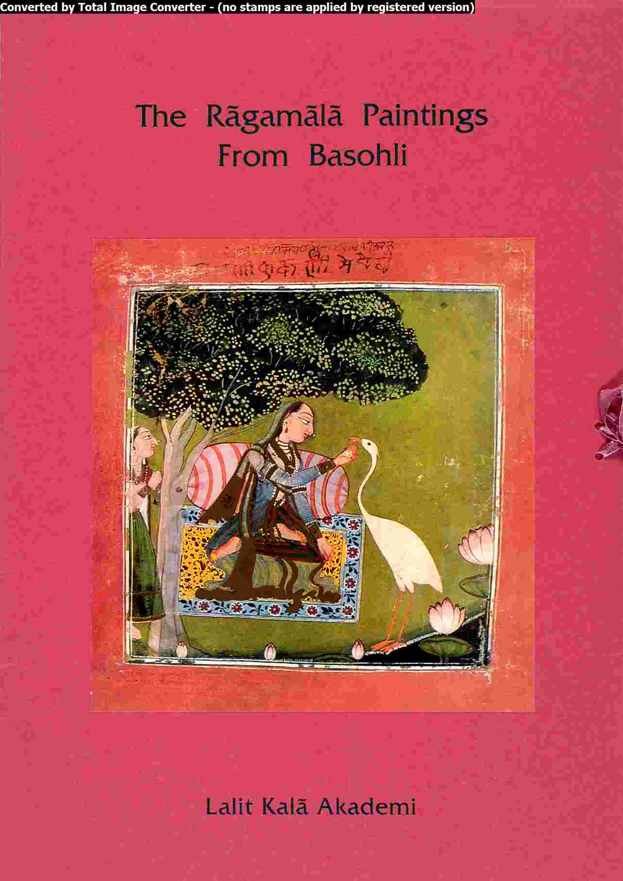 Portfolio The ragamala Paintings  from Basohli